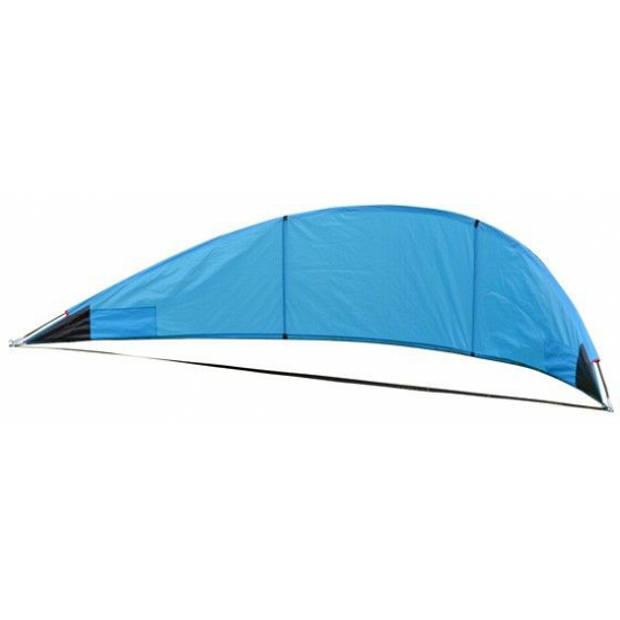 Blauw beachshelter windscherm 310 x 70 cm