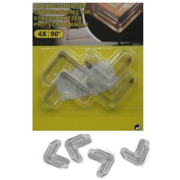 Hoekbeschermer voor de baby - 4x stuks - voor tafel / kasten