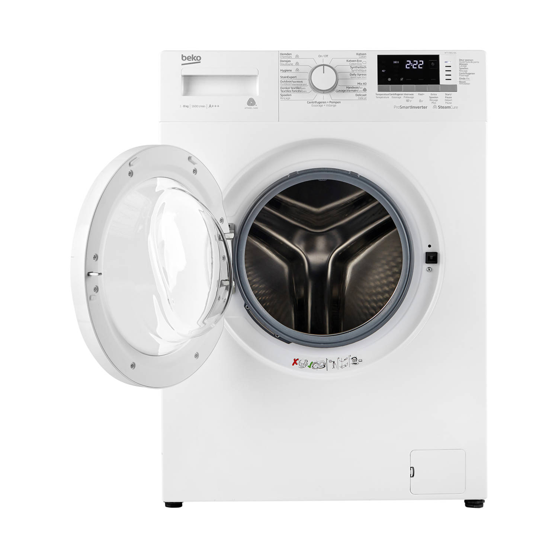 Beko WTV8812BS wasmachines - Wit