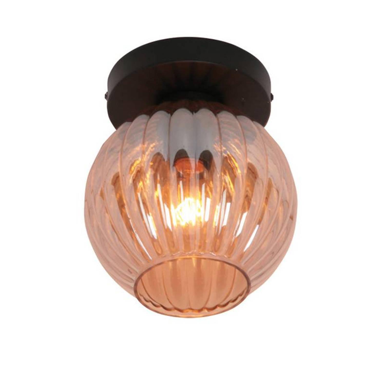 Freelight Plafondlamp Zucca Amber