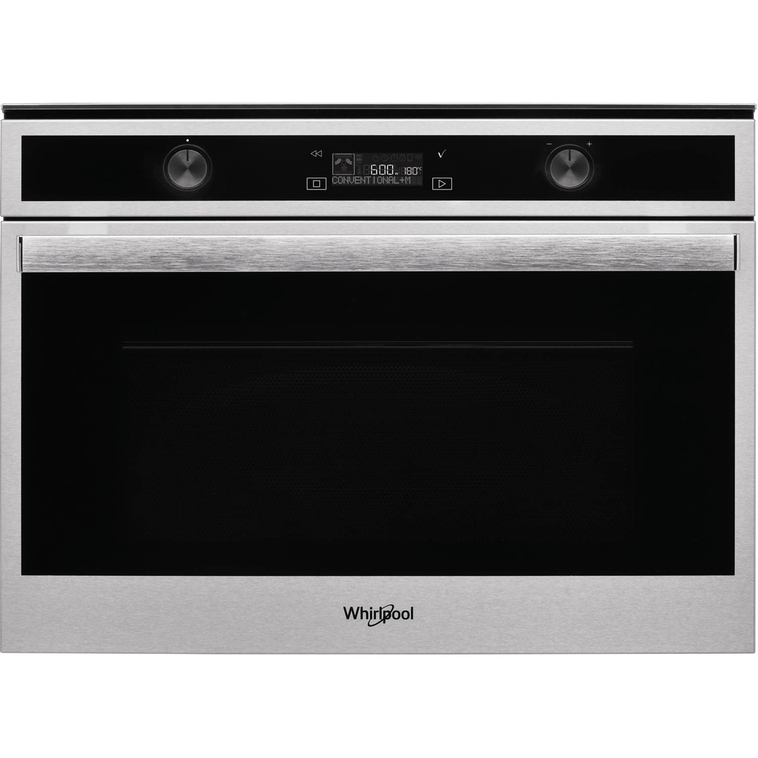 Whirlpool W6 ME550 magnetrons - Roestvrijstalen effect