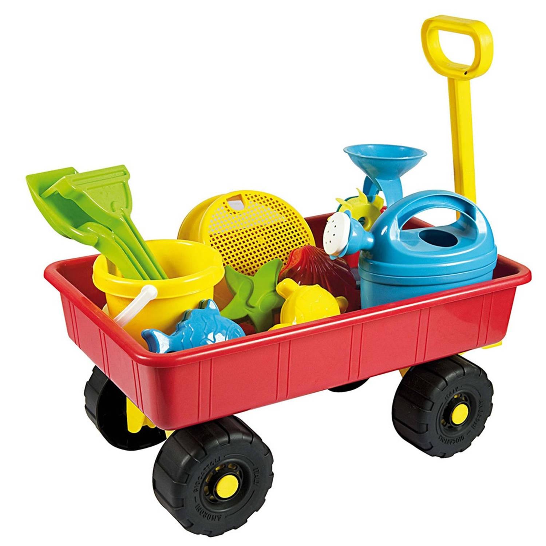 Androni bolderkar met speelgoed