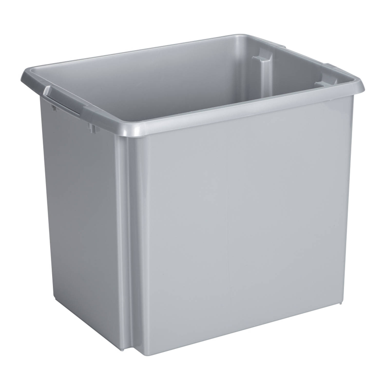Nesta Opbergbox - 45L - zilver