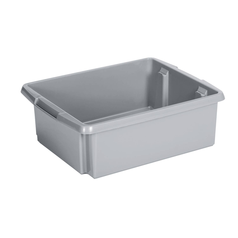 Nesta Opbergbox - 17L - zilver
