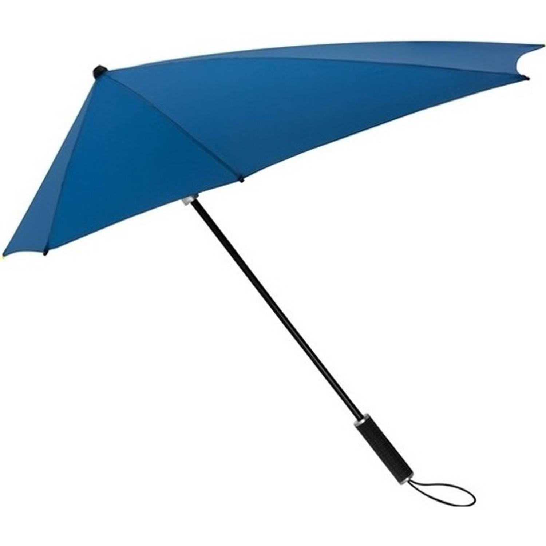 Korting STORMaxi storm paraplu kobaltblauw windproof 100 cm