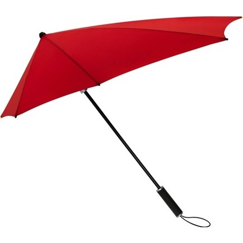 Korting STORMaxi storm paraplu rood windproof 100 cm
