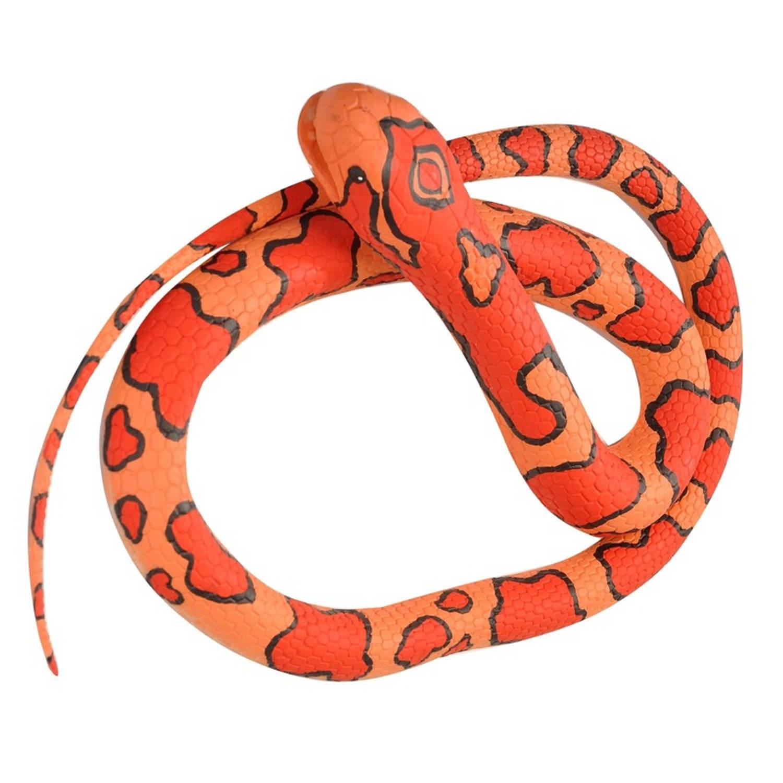 Afbeelding van Rubberen speelgoed korenslang mega 183 cm - speelgoed dieren nepslangen