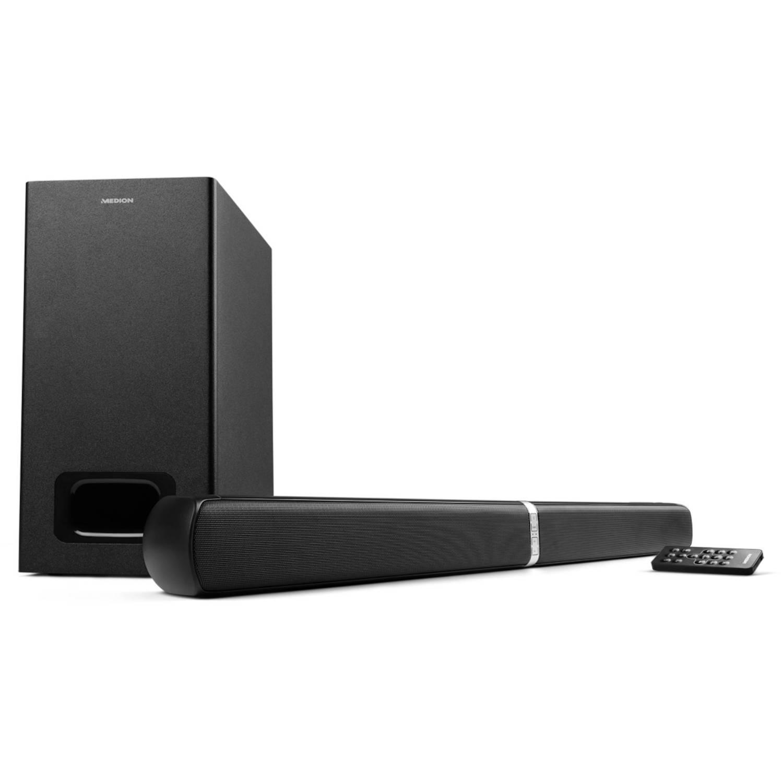 MEDION® LIFE E64126 Bluetooth Soundbar met draadloze Subwoofer