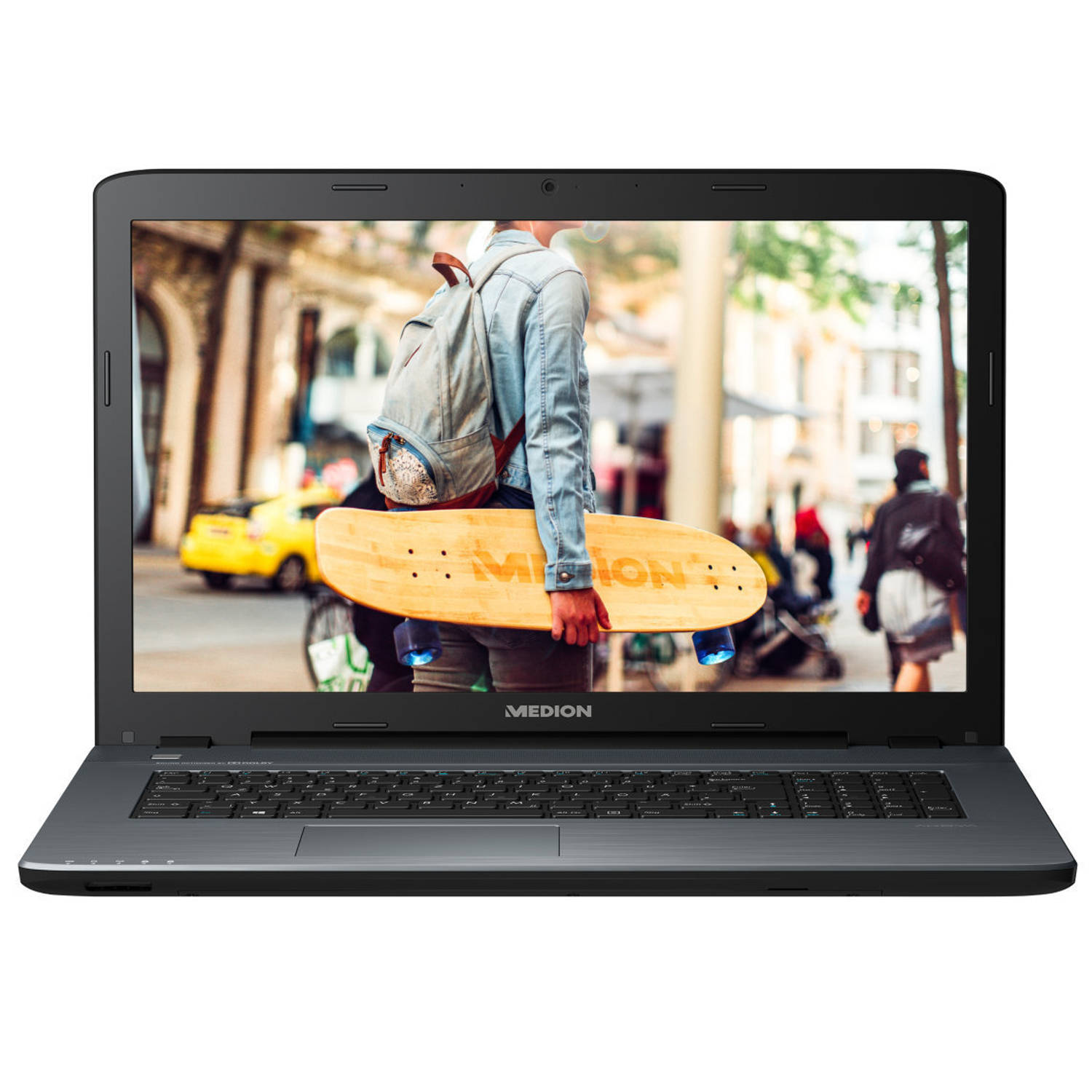 MEDION AKOYA P7653-i5-256F8 Antraciet Notebook 43,9 cm (17.3 ) 1920 x 1080 Pixels 1,60 GHz Intel® 8