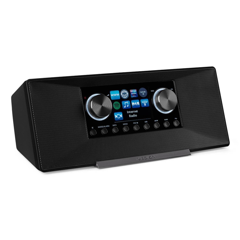 MEDION® LIFE P85135 WiFi DAB+ Internet Radio (Zwart)
