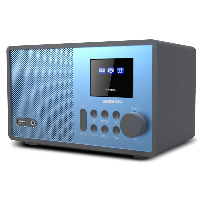 MEDION® LIFE E85059 WiFi Internet Radio (blauw)