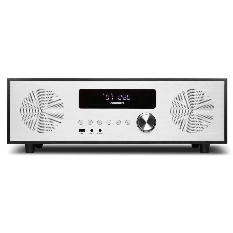 MEDION® LIFE X64400 DAB+ CD/MP3 Design Radio met Bluetooth