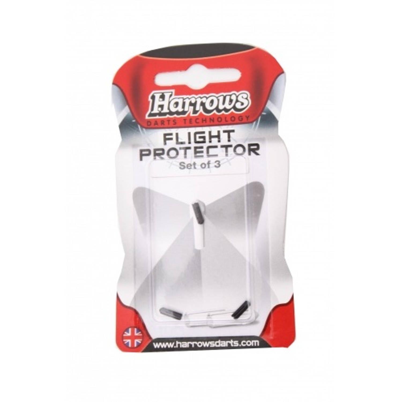 Korting Harrows Darts Flight Protector Aluminium Per 3 Stuks Zwart