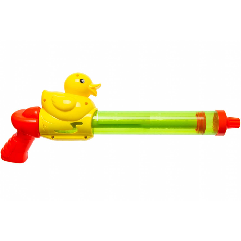 LG-Imports waterpistool met eendje 40 cm groen
