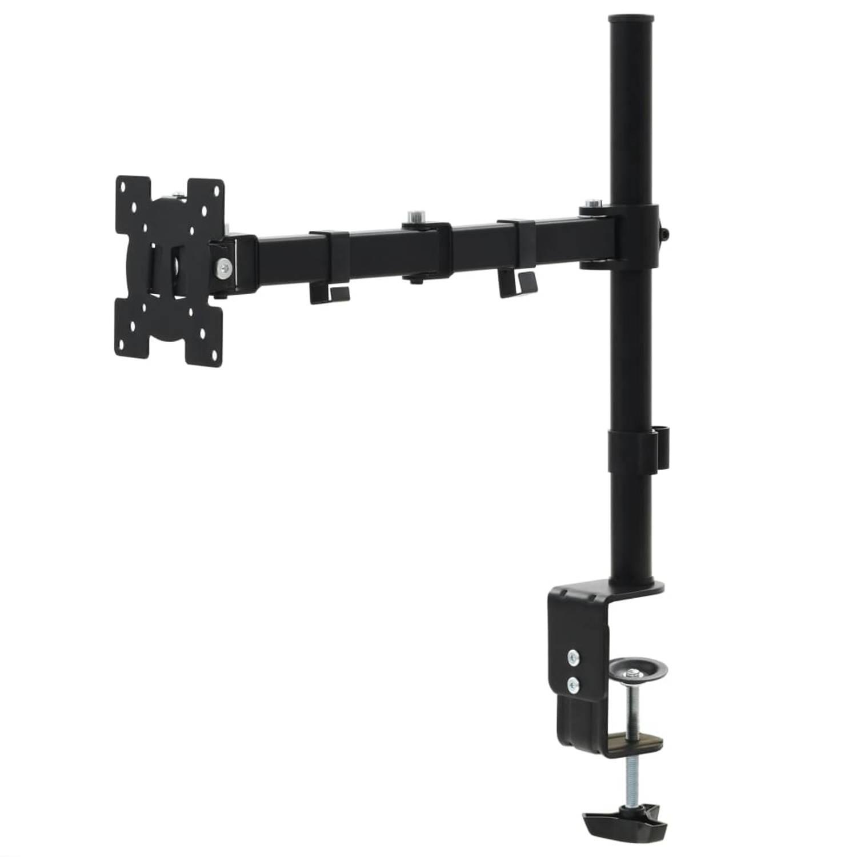 vidaXL Schermhouder 32 enkele arm in hoogte verstelbaar