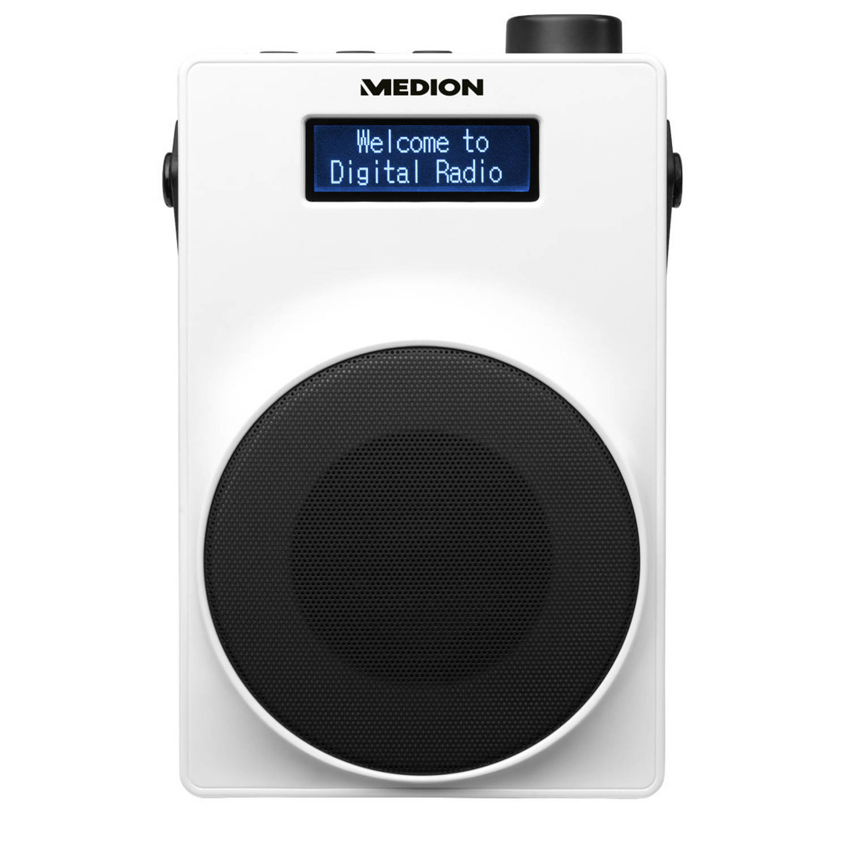 MEDION® LIFE E66880 Draagbare DAB+ Radio (wit)