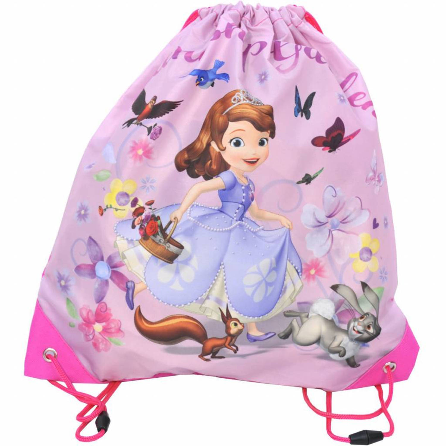 Disney Sofia The First Friendship Garden - Gymbag - 38 cm - Roze