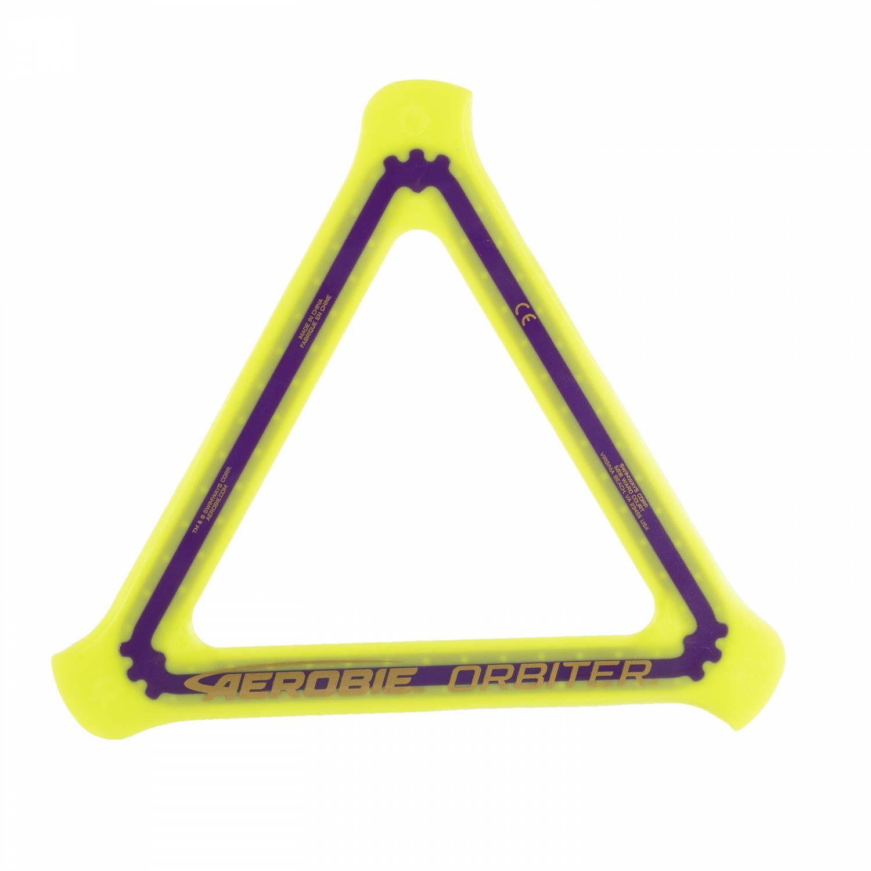 Afbeelding van Aerobie boomerang Orbiter 25 cm geel