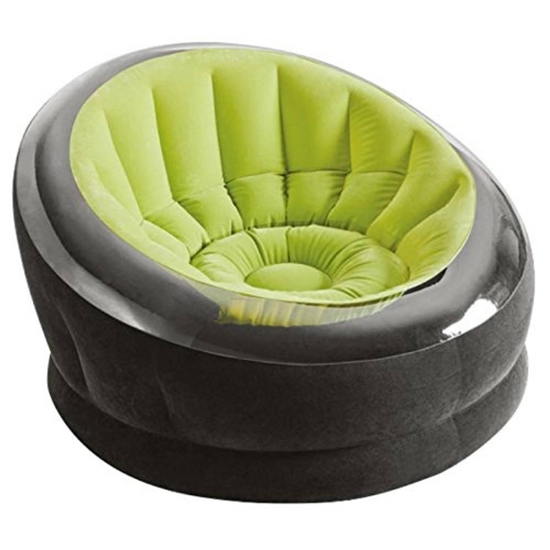 Intex opblaasbare loungestoel Empire groen 112 x 109 x 69 cm