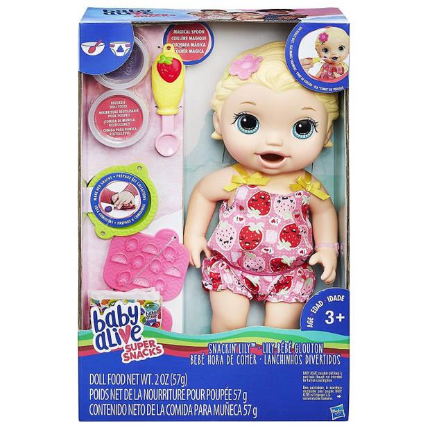 Hasbro babypop Lily 7-delig 31 cm roze