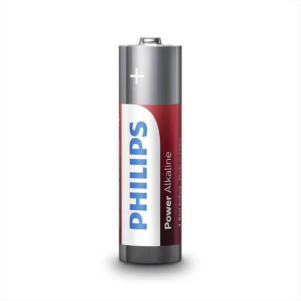 Philips batterijen AA/LR6 Powerlife 12 stuks