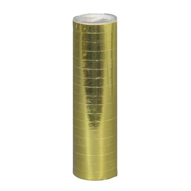 Boland serpentine 1 rol 400 cm metallic goud