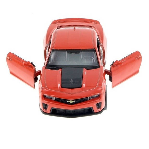 Modelauto Chevrolet Camaro ZL1 licht rood schaal 1:36 - Speelgoedauto