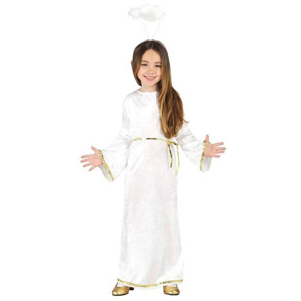 Engel Sariel verkleed kostuum/jurk voor meisjes 5-6 jaar (110-116)