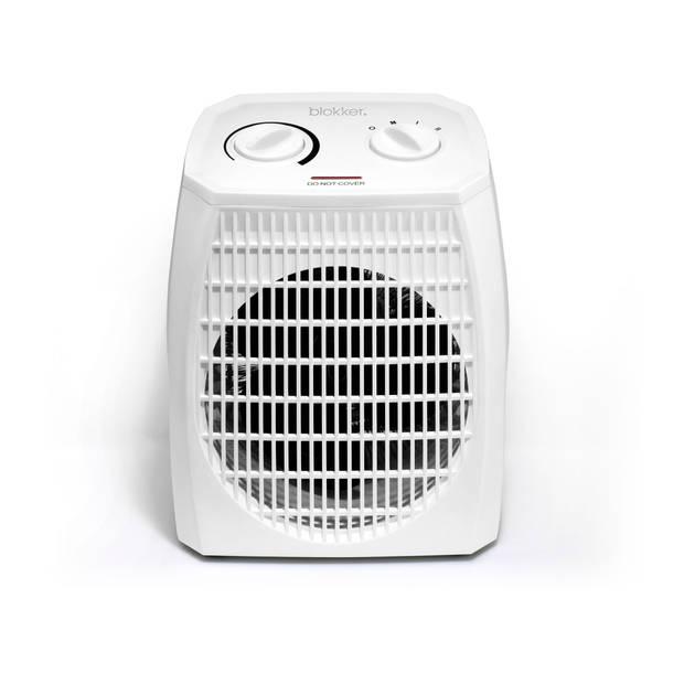 Blokker ventilatorkachel BL-24101 - wit