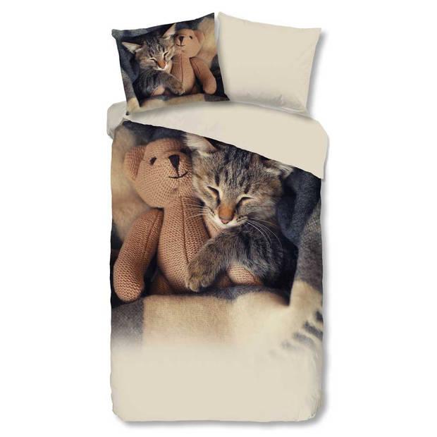 Goodmorning Dekbedovertrek Cute Little Cat