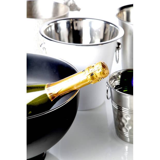 Cosy & Trendy Black Champagne Emmer Op Voet - Ø 31 cm