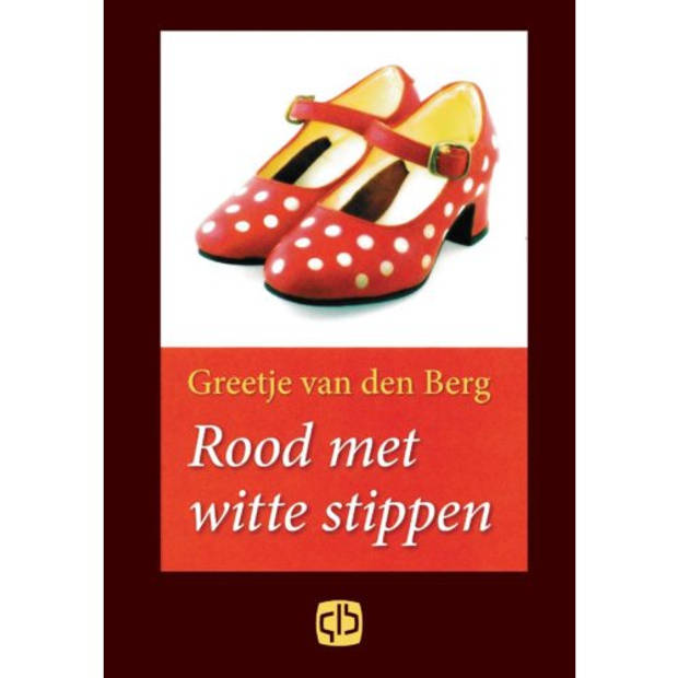 Rood Met Witte Stippen - Grote Letter Bibliotheek