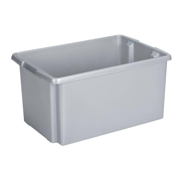 Nesta Opbergbox - 51L - zilver