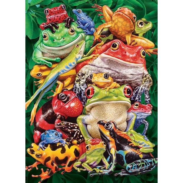 Cobble Hill Legpuzzel Frog Business 1000 stukjes