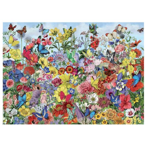 Cobble Hill legpuzzel Butterfly Garden 1000 stukjes