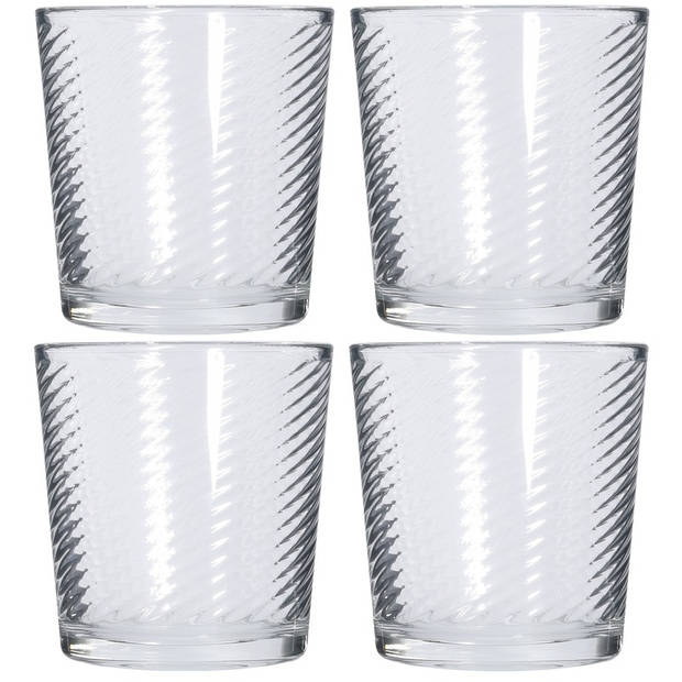 6x Drinkglazen 250 ml - Sapglazen - Waterglazen - Frisdrank glazen