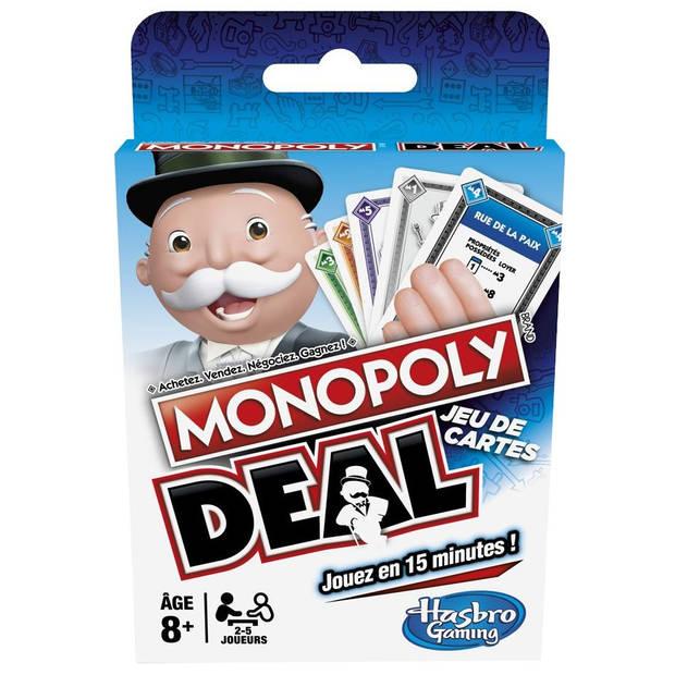 Hasbro Monopoly deal kaartspel (NL) 18 cm