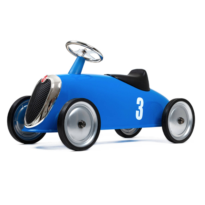 Afbeelding van Baghera New Rider Retro Loopauto Blauw