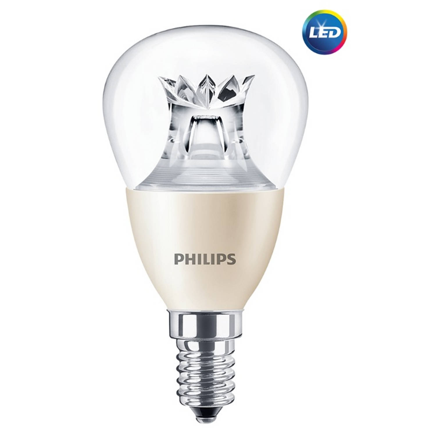 Philips LED Kogellamp E14 6-40W Helder 2200-2700K Dimtone 470lm