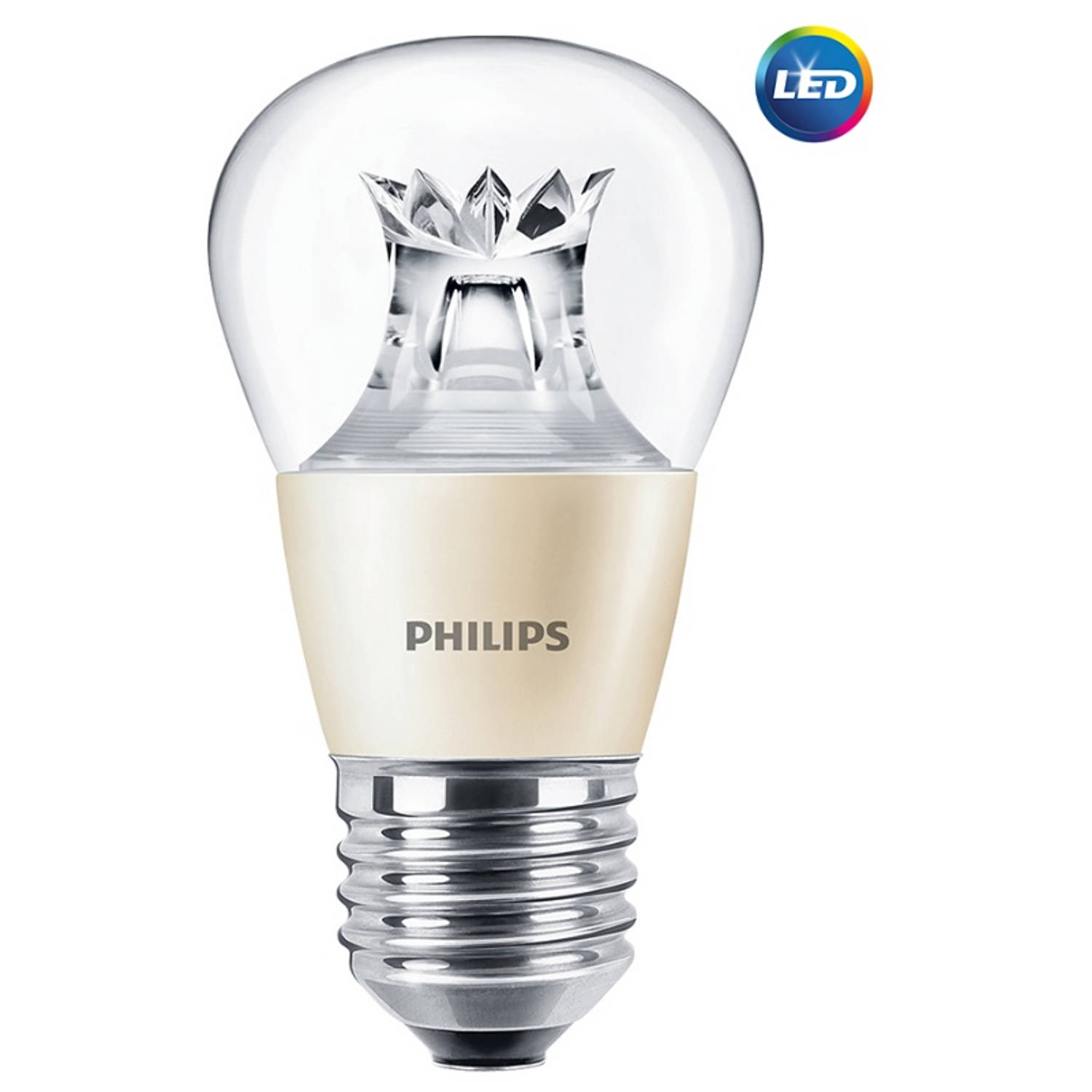 Philips LED Kogellamp E27 6-40W Helder 2200-2700K Dimtone 470lm
