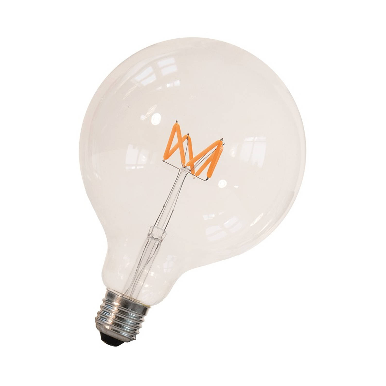 Afbeelding van Bailey Filament LED Wave Globe G125 E27 3W 2200K Dimbaar 300lm