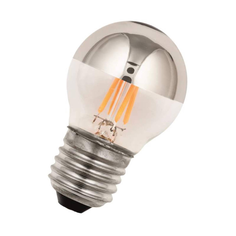 Afbeelding van Bailey LED Kopspiegellamp Zilver E27 2W 2700K 170lm Ø4.5x7.5cm
