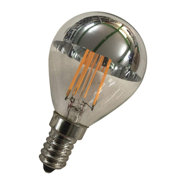 Afbeelding van Bailey LED Kopspiegellamp Zilver E14 2W 2700K 170lm Ø4.5x7.8cm
