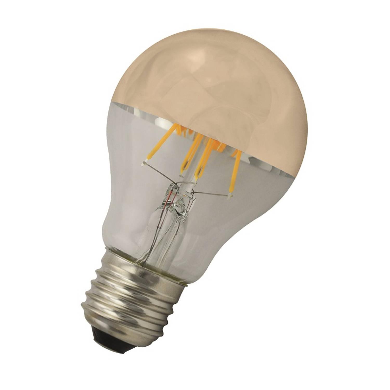 Afbeelding van Bailey LED Kopspiegellamp Goud E27 6W 2700K 650lm Ø6x10.5cm