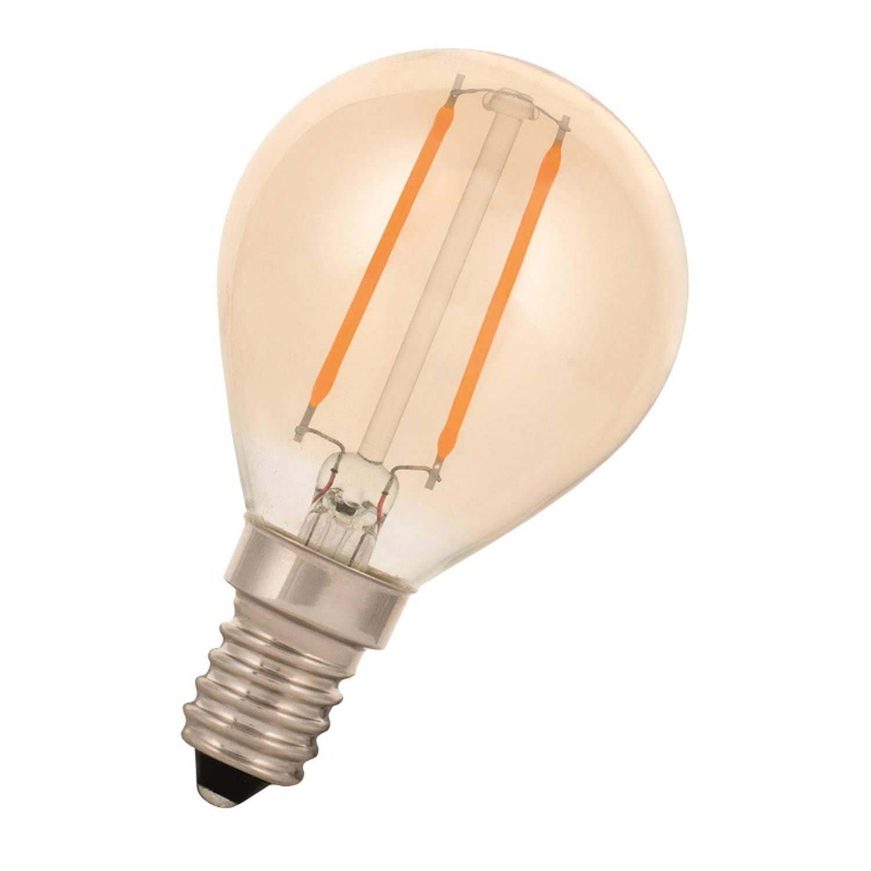 Afbeelding van Bailey LED Filament Kogellamp E14 2W 2200K Goud 180lm