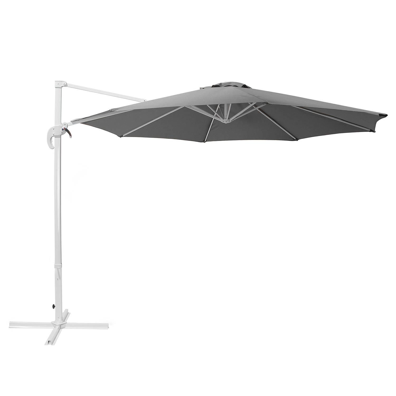 Beliani Savona - Parasol-grijs-polyester
