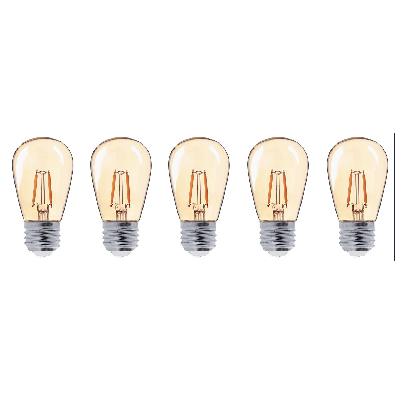 Lumisky filament led-lampen 5-pack