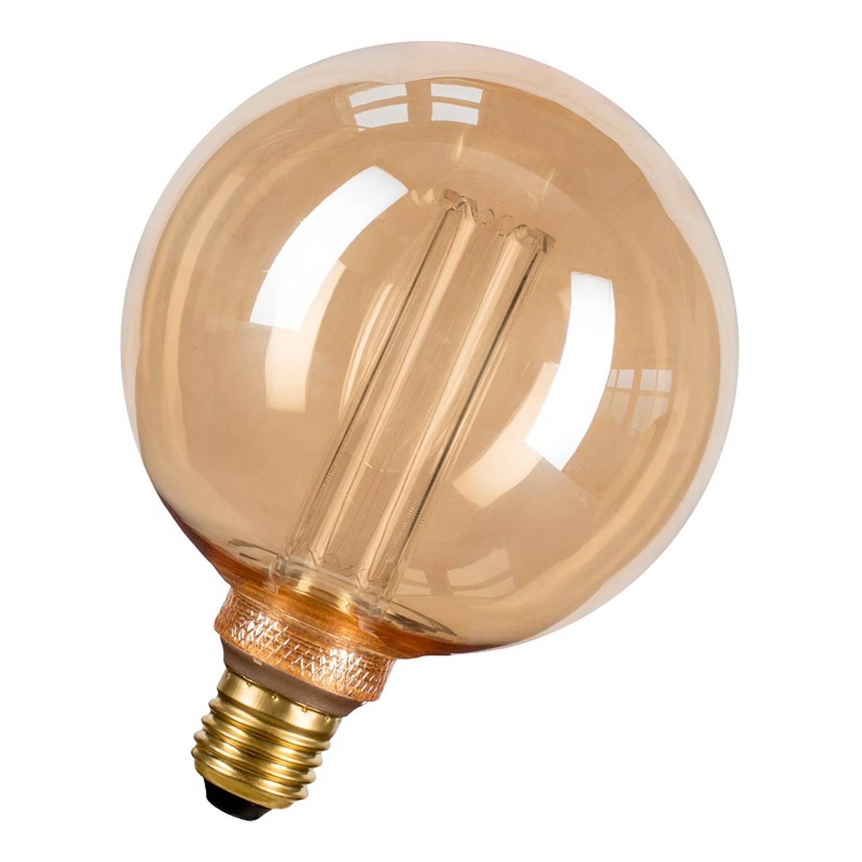 Afbeelding van Bailey LEDfiber Glow G125 E27 4W 1800K 200lm Goud Ø125x165mm