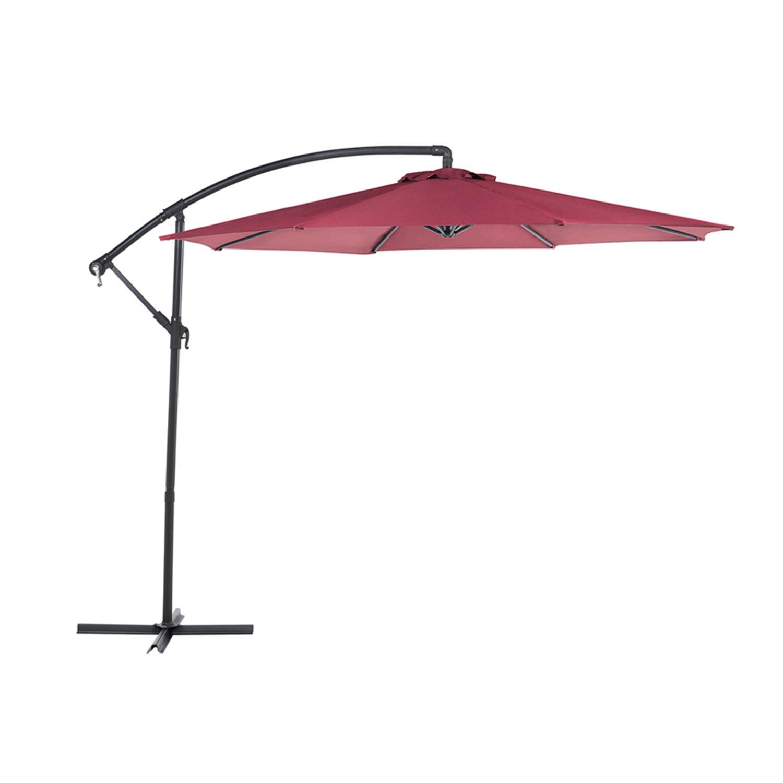 Beliani Ravenna - Parasol-rood-polyester