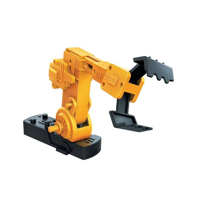 Afbeelding van 4M bouwpakket KidzRobotix robotarm 28-delig